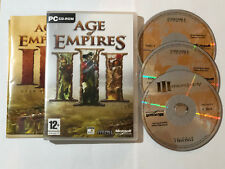 AGE OF EMPIRES III 3 - PC GAME - FAST POST - REGION 2