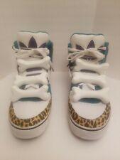 Jeremy Scott Bones Adidas Animal Print High Top Sneaker Shoes Size 13