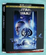 Star Wars 4k Blu ray slipcover (SLIPCOVER ONLY! NO MOVIE DISC!)