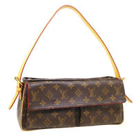 LOUIS VUITTON VIVA CITE MM HAND BAG DU1024 PURSE MONOGRAM CANVAS M51164 34473