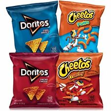 40 Pack Variety Doritos & Cheetos Mix - Tasty Snack Crisps Chips - Watch TV Food