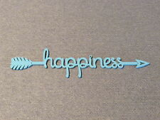Happiness Arrow Wood Wall Sign Home Decor