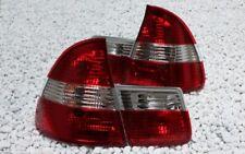 KLARGLAS RÜCKLEUCHTEN SET BMW E46 3er TOURING KOMBI ROT KLAR RED CRYSTAL CLEAR