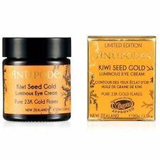 New ANTIPODES Kiwi Seed Gold Luminous Eye Cream 30ml Kiwiseed Anti-Aging