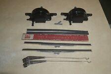 1966-77 Ford Bronco Trico Vacuum Wiper Motors Arms Blades 1967 68 69 70 71 72 73