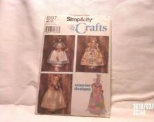 Pattern H894   -S8579 *Doll / Bunny Laundry Dryer Sheets and Plastic Bag Holder