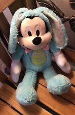 New listing Disney Mickey Mouse Easter Bunny Plush Toy 16� Toy Doll. New