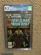 Power Man and Iron Fist CGC 9.2 NM- 3rd Sabretooth Appearance