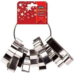 Christmas  Cookie Cutter Set -  9 Piece