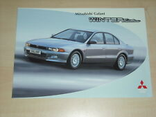 62542) Mitsubishi Galant Winter Edition Prospekt 11/1998