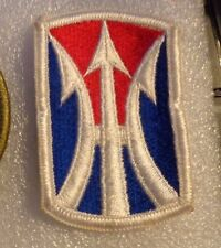 ARMY PATCH, 11TH INFANTRY BRIGADE (SEPARATE)