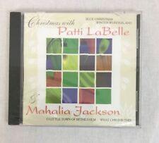 Christmas With Patti Labelle & Mahalia Jackson Music 1998 Holiday album NEW CD