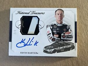 Kevin Harvick 2016 Panini National Treasures Sheet Metal Auto /4 READ