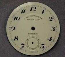 Dial Background pocket watch Email Enamelled Former Chronometer Rodez 35