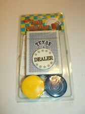 TEXAS POKER SET- NEW AND SEALED- £1.99 THIS WEEK ONLY