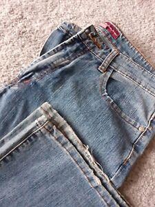 Ladies Wide Leg Jeans Size 12