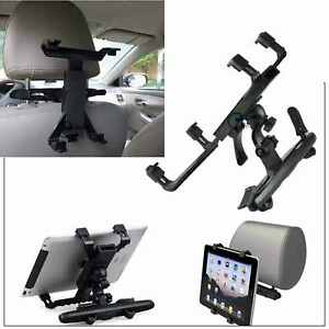"""Universal Headrest Seat Car Holder  for iPad 1 2 3 4, Air & 10"""" 4 All  Tablets"""