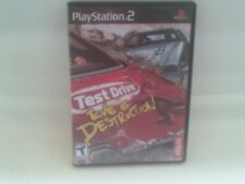 Test Drive: Eve of Destruction Complete in Box CIB Sony PlayStation 2 PS2
