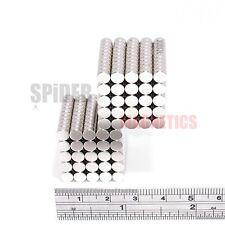 500 Imanes 5x2.5 mm N52 Imán De Neodimio Disco Fuerte Neo Craft 5mm diámetro x 2.5mm