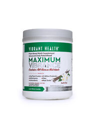 Vibrant Health Maximum Vibrance Vanilla Powder 626.4g - 15 Servings