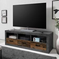 TV-Unterschrank TV Lowboard Medina Pine Vintage Fernsehschrank Unterschrank