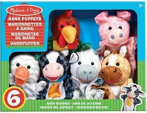 Barn Buddies Hand Puppets - Melissa & Doug
