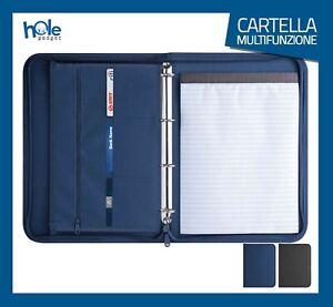 Cartella Porta documenti Cartelletta A4 Portadocumenti Borsa Porta Tablet A4 6