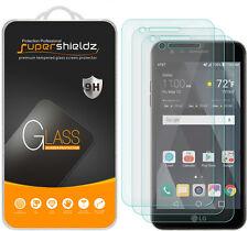 3X Supershieldz LG Phoenix 3 Tempered Glass Screen Protector Saver