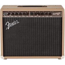 "Fender Acoustasonic 90 90W 1x8"" 2-Ch Acoustic Guitar Combo Amplifier Amp Brown"