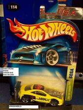HOT WHEELS 2003 #114 -5 CUSTOM COUGAR YELLO DRK CHRM ENGN MAL E04 CA