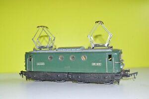 jep  eche  O loco  electrique ref  6069-L   BB  8100   metal moulé  poteur AP5