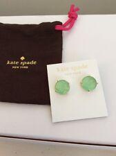 Kate Spade Large Mint Green Gumdrop Earrings #200 D