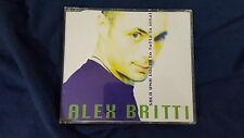 ALEX BRITTI - SOLO UNA VOLTA O TUTTA LA VITA. CD SINGLE