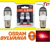 Sylvania ZEVO LED light Bulb 1157 Red Turn Signal Side Marker Tail Lamp Upgrade
