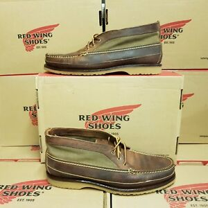 RED WING SHOES 9184 Chukka men's leather boots UK 11 US 12 EUR 45,5 (NEUF)
