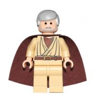 Lego Obi-Wan Kenobi (Old) - Standard Cape Watch Set Star Wars Minifigure