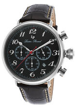 Lucien Piccard Trieste GMT Chronograph Mens Watch 72415-01