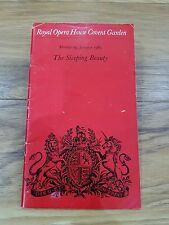 The sleeping Beauty Programme Royal Opera House Covent Garden 13 January 1969
