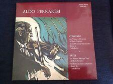 ALDO FERRARESI GUARINO VIOLIN CONCERTO Italy Sanremo PROMO 2LP Archive Unplayed