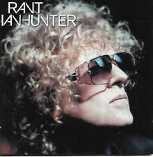 IAN HUNTER - RANT - 12 TRACK CD ALBUM - 2001 TRUE NORTH