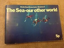 BROOKE BOND THE SEA-OUR OTHER WORLD COMPLETE BOOKLET 1970'S.