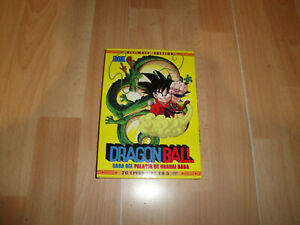 DRAGON BALL ULTIMATE EDITION BOX 4 AMARILLA EN ANIME DVD EN MUY BUEN ESTADO