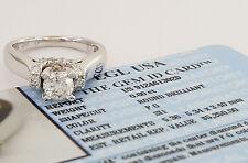 1 ct 14k White Gold Diamond Engagement Ring w/ EGL-USA GemID Retail $5,250