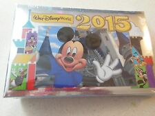 Authentic Walt Disney World 2015 Photo Album - holds 100 4X6 photos - NEW