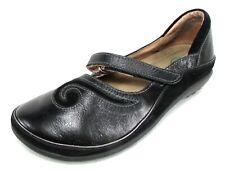 NAOT MATAI Black Leather Mary Jane Flats Loafers 37 6