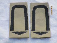 Bw-Rangschlaufen: Unteroffizier,  Luftwaffe , schwarz/khaki