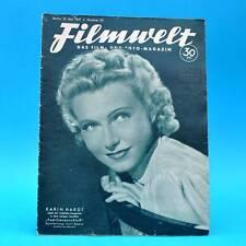 Filmwelt 20-1941 | 16.05.1941 | Karin Hardt Martin Urtel Marianne Hoppe Kreysler