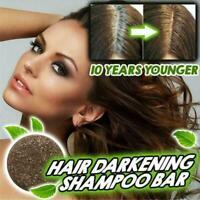 Hair Darkening Shampoo Bar Soap Hair Shampoo Polygonum Hair L0 Cleansing W7W6