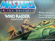 D0500089 WIND RAIDER HE MAN MOTU MISB MIB MINT IN SEALED BOX VINTAGE COMPLETE