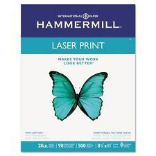 Premium Laser Print Paper, 98 Bright, 28lb, 8.5 X 11, White, 500/ream
